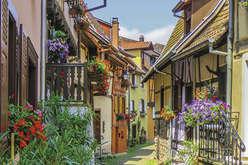 Alsace : les maisons  traditionnelles