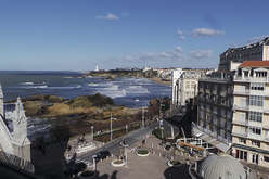 The centre of Biarritz : more popular than ever