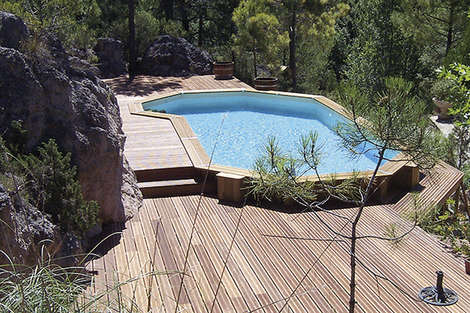 Bluewood, a pool to fit the bill