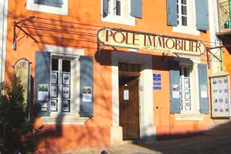 Pôle Immobilier : second agency in the Luberon