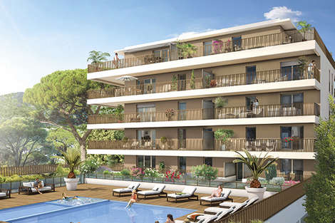 Ideal holiday apartments, Second residence, Les Voiles du Lavandou