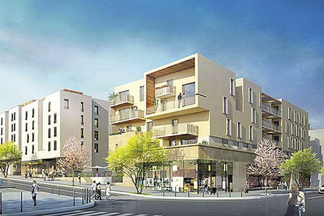 Le Castellane, a new development at the gateway to Lyon