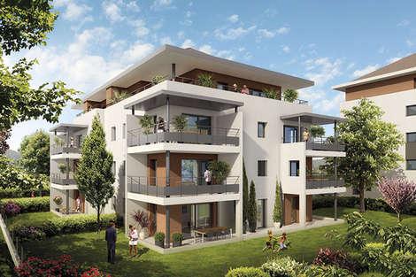 contemporary residence in Poisy
