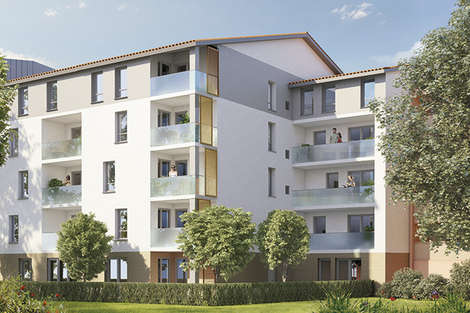New residence in Les Minimes