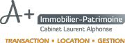 LogoA+Immobilier-Patrimoine Cabinet Laurent ALPHONSE
