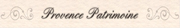 LogoPROVENCE PATRIMOINE