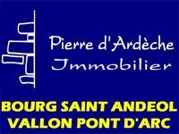 LogoPIERRE D'ARDÈCHE IMMOBILIER