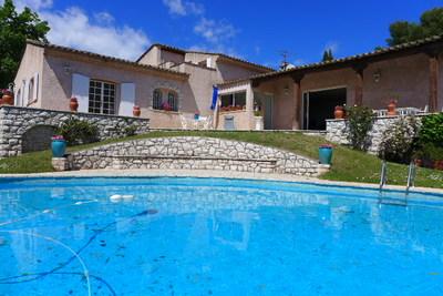 TOURRETTES-SUR-LOUP- Maison à vendre - 8 pièces - 250 m²