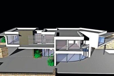 ROQUEBRUNE-CAP-MARTIN- terrain à vendre  - 2050 m²