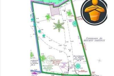 MOUANS-SARTOUX- terrain à vendre  - 840 m²