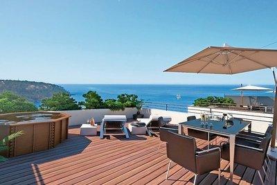 ROQUEBRUNE-CAP-MARTIN- Maison à vendre - 4 pièces - 100 m²