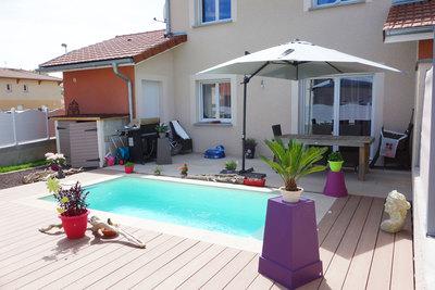 Maison à vendre à AMBERIEU-EN-BUGEY  - 5 pièces - 108 m²