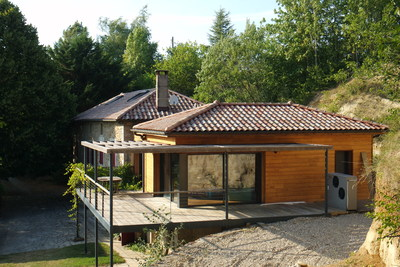 Maison à vendre à CHATEAUNEUF DE GALAURE  - 6 pièces - 250 m²