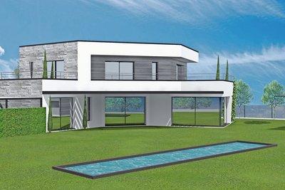 MOUGINS- terrain à vendre  - 1366 m²