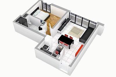 Apartment for sale in ARCACHON  - 2 rooms - 46 m²