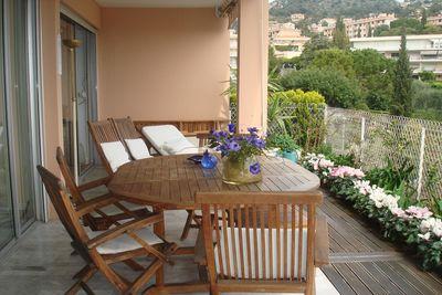 Appartement à louer à VILLEFRANCHE-SUR-MER  - 3 pièces - 85 m²