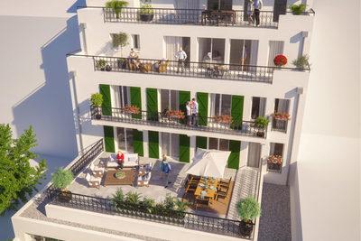 Appartement à vendre à ST-JEAN-DE-LUZ  - 2 pièces - 54 m²