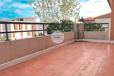Appartement à vendre à CANNES-LA-BOCCA  - 2 pièces - 52 m²