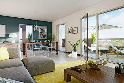 Appartement à vendre à MARSEILLE  1ER  - 4 pièces - 91 m²