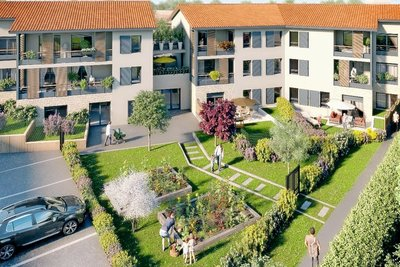 - 3 rooms - 61 m²