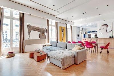 Appartement à vendre à PARIS 17EME  - 6 pièces - 247 m²