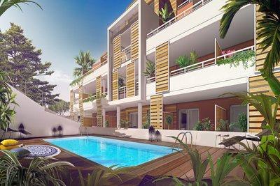 Appartement à vendre à ANTIBES  - Studio - 28 m²