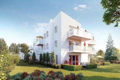 Appartement à vendre à PESSAC  - 2 pièces - 45 m²