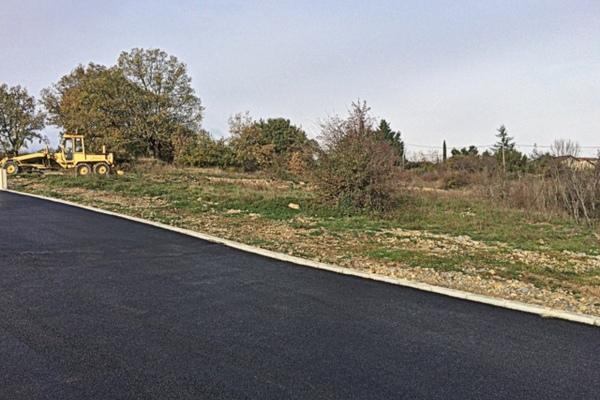 LACHAPELLE SOUS AUBENAS - Annonce terrain à vendre739 m²