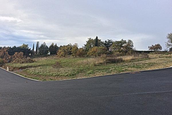 AUBENAS - Annonce terrain à vendre739 m²