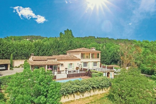 CHATEAUNEUF-DE-GRASSE - Annonce Maison à vendre6 pièces - 350 m²