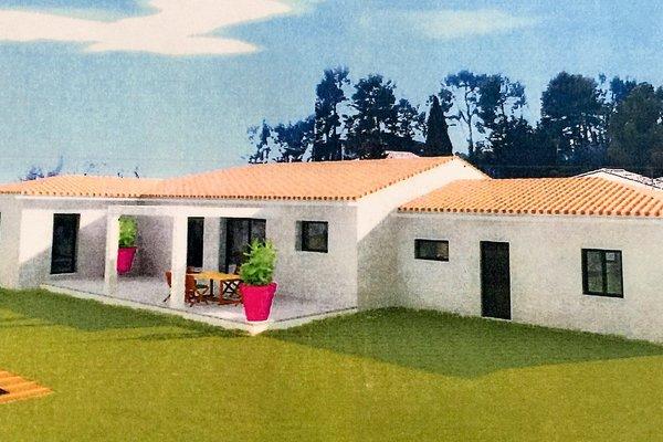 SIMIANE-COLLONGUE - Annonce terrain à vendre - 150 m²