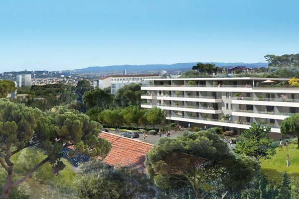 MARSEILLE  8EME - Annonce Appartement à vendre3 pièces - 66 m²