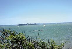 The Gulf of Morbihan, an inland sea with islands