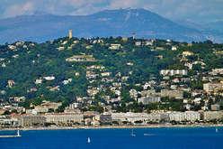 Cannes Californie un balcon sur la mer