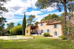 La campagne autour d'Aix en Provence,  charme et art de vivre