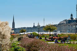 Bordeaux city centre, a more stable market