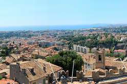 Cagnes-sur-Mer and its surrounding area