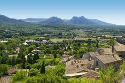 The Alpilles : a picture-postcard of Provence