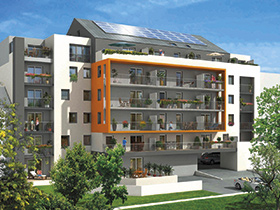 Résidence BBC à Nantes