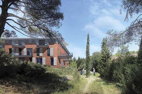 On the hills near Aix-en-Provence