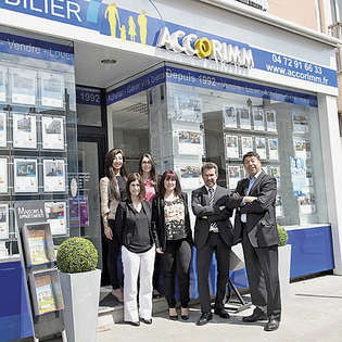 Accorimm, 3 agencies in Lyon surrouding