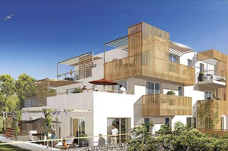 New development in Le Pradet