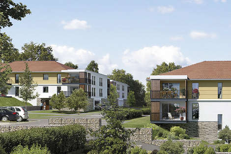 New development Between Annecy and Geneva