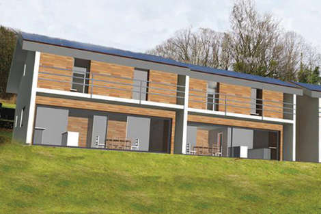 Ecological housing In the Farges area