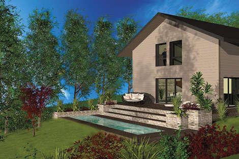 New development of four detached villas
