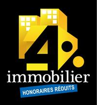 Logo 4% IMMOBILIER SCHILTIGHEIM