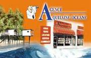 LogoAgence Aquitaine Océane