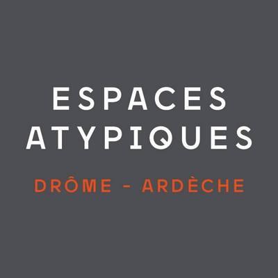 LogoESPACES ATYPIQUES DROME  ARDECHE