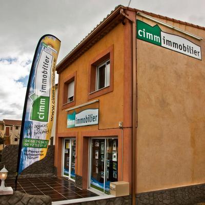 Logo Cimm Immobilier St Pierre La Mer / Narbonne-Plage / Gruissan