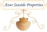 LogoAzur seaside Properties Roquefort